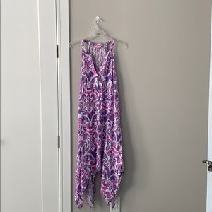 Purple Lilly Pulitzer halter dress
